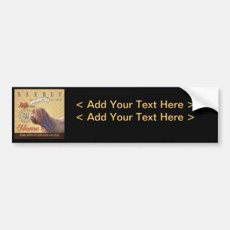 A Loving Barbet Makes Our House Home Car Bumper Sticker