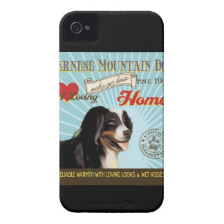 A Loving Bernese Mountain Dog Makes Our House Home Case-Mate iPhone 4 Cases