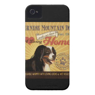 A Loving Bernese Mountain Dog Makes Our House Home iPhone 4 Cases