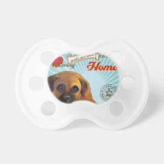 A Loving Bullmastiff Makes Our House Home Baby Pacifiers