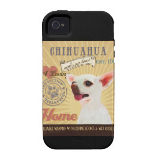 A Loving Chihuahua Makes Our House Home iPhone 4/4S Covers