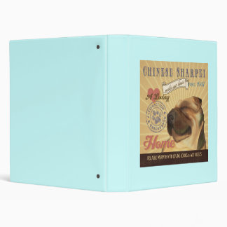 A Loving Chinese Sharpei Makes Our House Home 3 Ring Binder