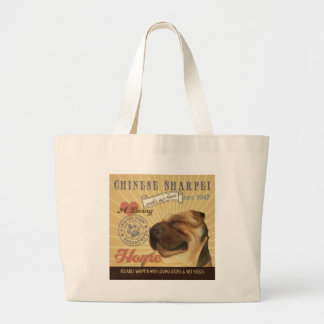 A Loving Chinese Sharpei Makes Our House Home Canvas Bag