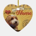 A Loving Cockapoo Makes Our House Home Ceramic Ornament