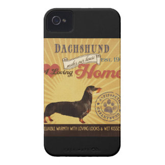A Loving Dachshund Makes Our House Home iPhone 4 Case