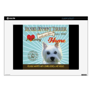 A Loving Dandie Dinmont Terrier Decal For Laptop