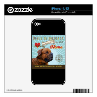 A Loving Dogue de Bordeaux Makes Our House Home Skins For iPhone 4S