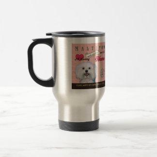 A Loving Maltipoo Makes Our House Home Travel Mug