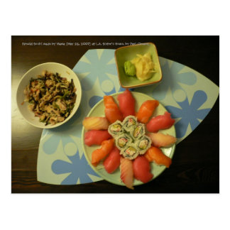 A Loving Meal... Postcard
