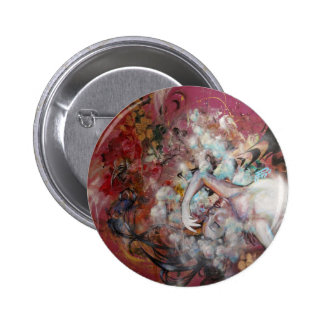 A Loving Monster Pinback Button