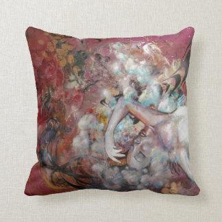A Loving Monster Throw Pillow