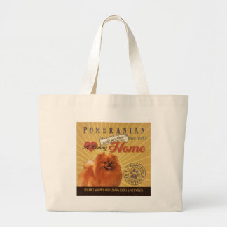 A Loving Pomeranian Makes Our House Home Bags