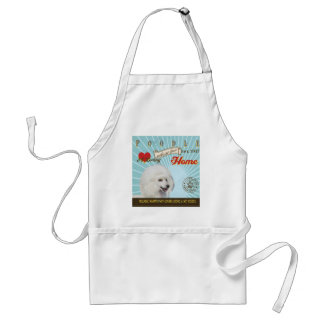 A Loving Poodle Makes Our House Home Adult Apron