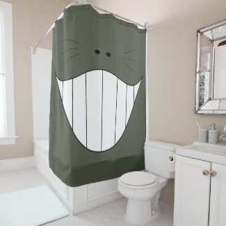 A loving smile of a Mouth 001 Shower Curtain