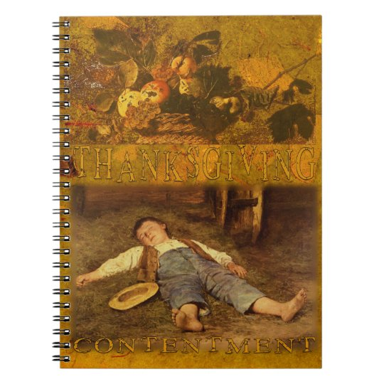 A Loving Thanksgiving Notebook