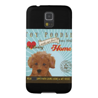 A Loving Toy Poodle Makes Our House Home Case For Galaxy S5