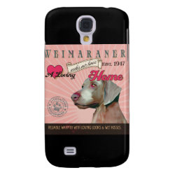 Case-Mate Barely There Samsung Galaxy S4 Case with Weimaraner Phone Cases design