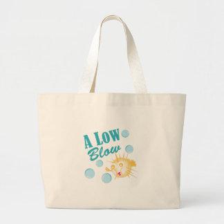 A Low Blow Jumbo Tote Bag