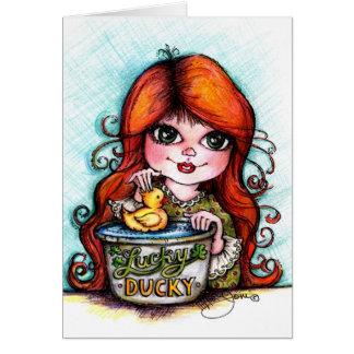 A Lucky Ducky! Cards
