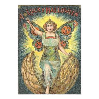 A Lucky Halloween Vintage Invite