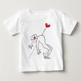 A Lucky Man Pinned by Love Infant T-shirt