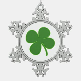 A Lucky Shamrock Charm Ornament