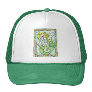 A Lucky Undersea Moment Mesh Hat