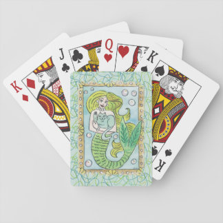 A Lucky Undersea Moment Playing Cards