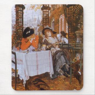 A Luncheon (Le Dejeuner) by James Tissot Mouse Pad