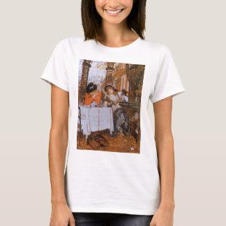 A Luncheon (Le Dejeuner) by James Tissot T-Shirt