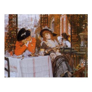 A Luncheon (Petite Dejeuner) by James Tissot Postcard