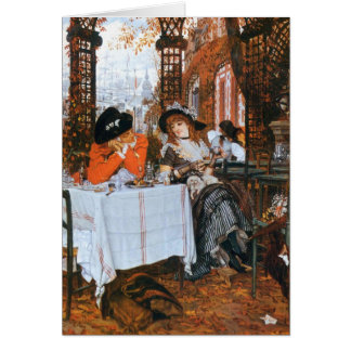 A Luncheon Romance Card
