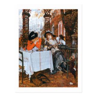 A Luncheon Romance Postcard