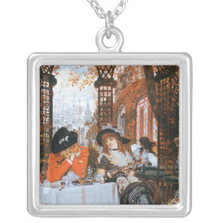 A Luncheon Romance Silver Plated Necklace