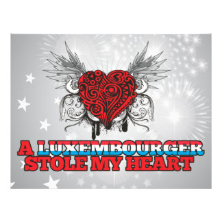 A Luxembourger Stole my Heart Flyers
