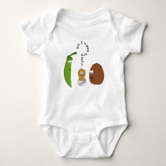 A.m. I to pea or to nut? For Funny to cute baby pe T-shirt