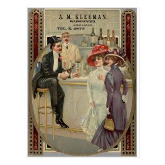 A.M. Whisky 1900-1925 de Kleeman Tarjetas Postales