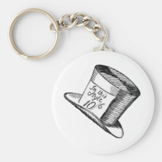 A Mad Hatter Hat Key Chain