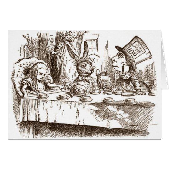 A Mad Tea Party Card
