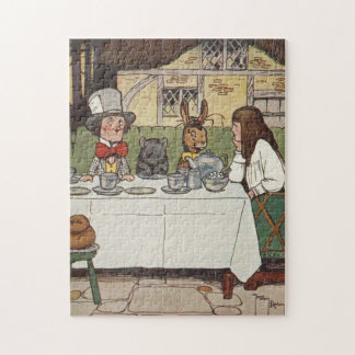 A Mad Tea Party Jigsaw Puzzle