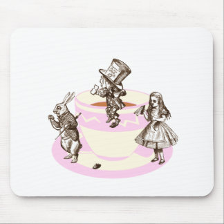 A Mad Tea Party Mouse Pad