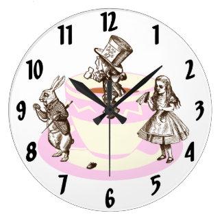Mad Hatter Clock