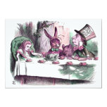 "A Mad Tea Party Pastels 5"" X 7"" Invitation Card"