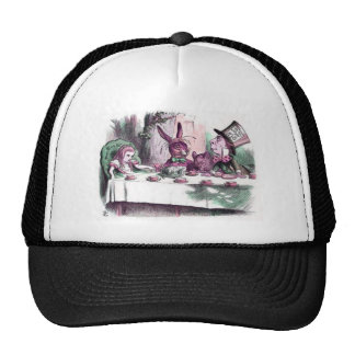 A Mad Tea Party Pastels Trucker Hat