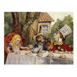 A Mad Tea Party Postcard