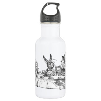 A Mad Tea Party Stainless Steel Water Bottle
