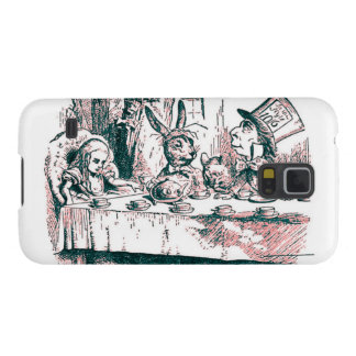 A Mad Tea Party Tenniel Pink Tint Cases For Galaxy S5