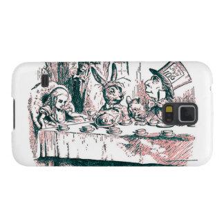 A Mad Tea Party Tenniel Pink Tint Galaxy S5 Case