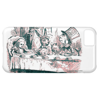 A Mad Tea Party Tenniel Pink Tint iPhone 5C Case