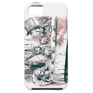 A Mad Tea Party Tenniel Pink Tint iPhone SE/5/5s Case